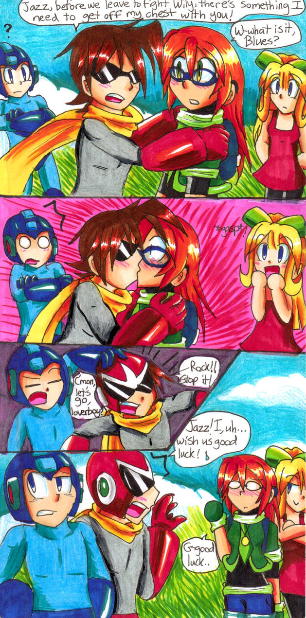 [Copic Practice/Comic Idea] Before the Last Battle by Sonicbandicoot
