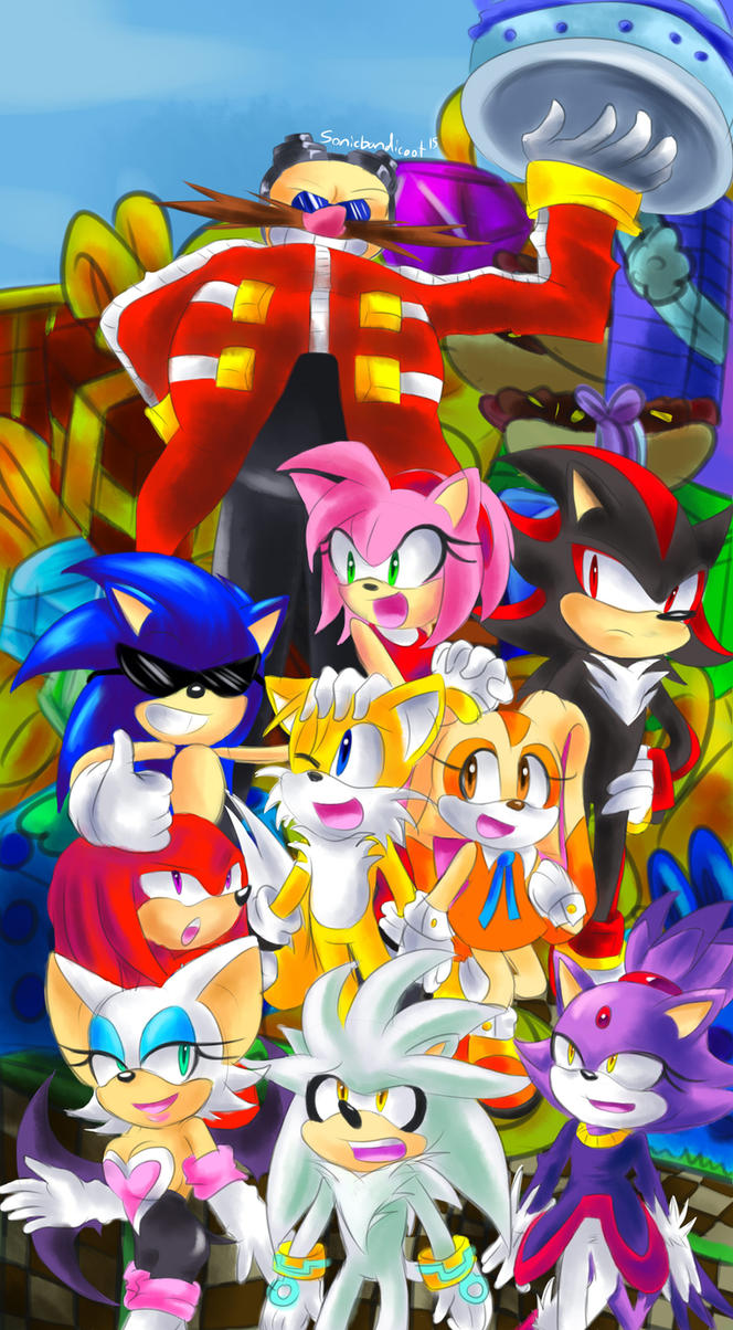 Happy 24th Birthday Sonic~ by Sonicbandicoot