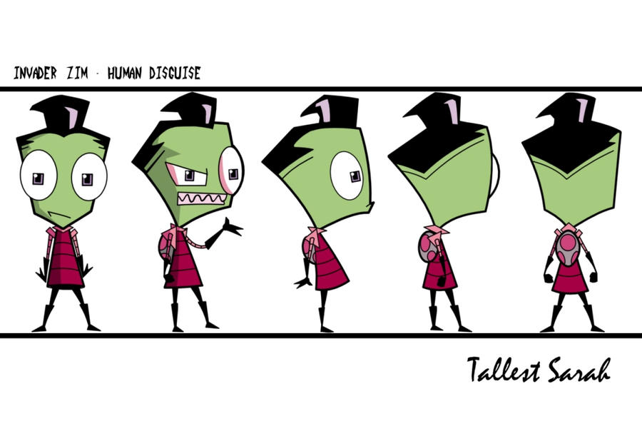 invader zim character by - photo #36