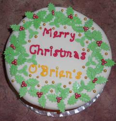 O'Brien's Christmas Cake
