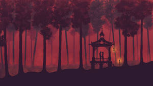 Romantic forest - 4K 16:9 Wallpaper