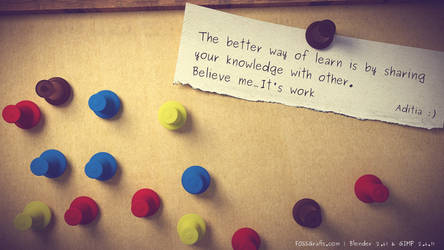 Weekly Inspirational Art 1 : Pin a letter