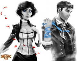 Bioshock Infinite fan art
