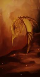 Fire dragon by Elektra-Drakonis