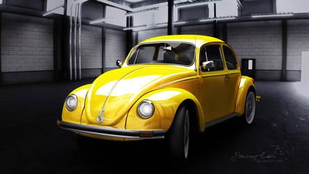 VW Beetle by knipslein