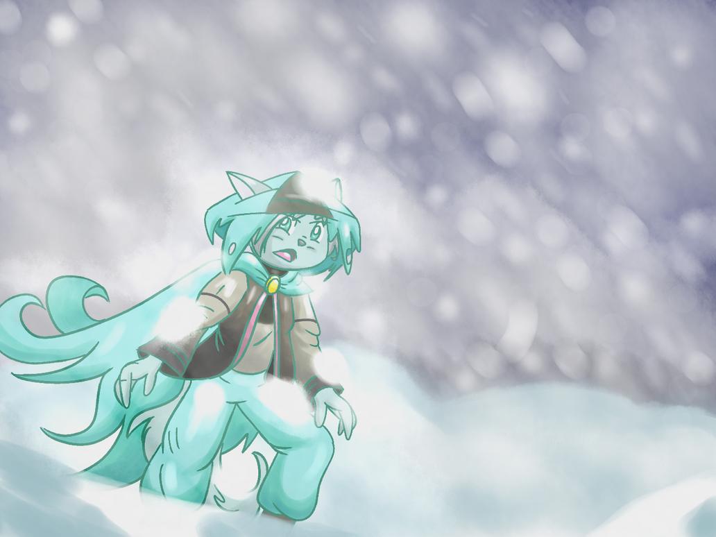 Snow dust by shinkuma