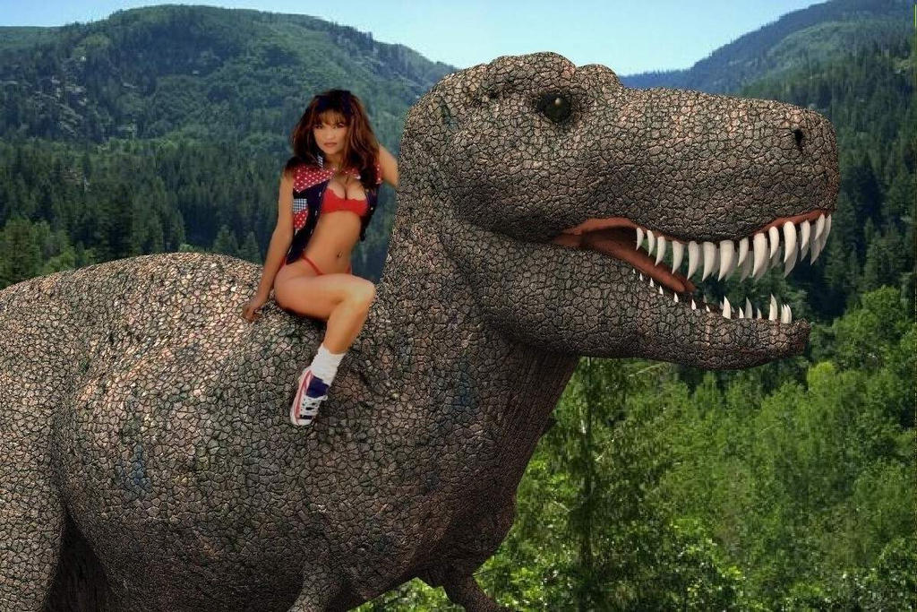 Lisa and the Trex 2