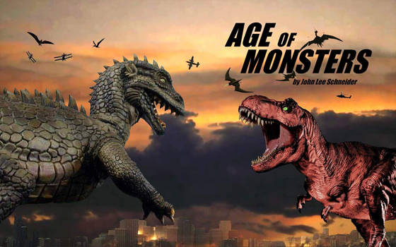 AGE OF MONSTERS 3 Wrap Around