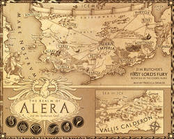 Codex Alera Map
