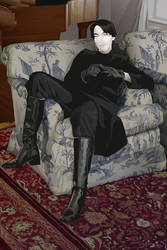 Young Vetinari by priscellie