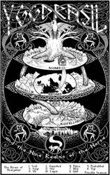 Yggdrasil and the Nine Realms of the Norse