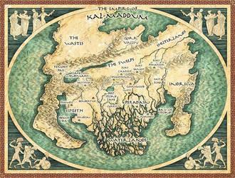 Map of Kal-Maddum