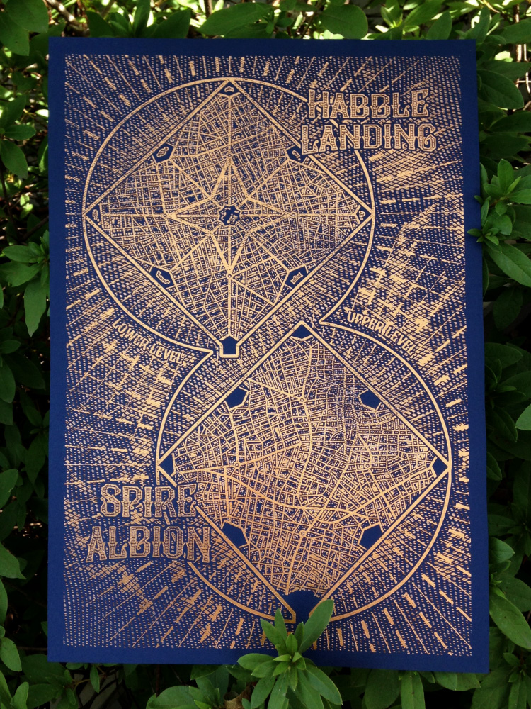 Habble Landing Map by priscellie