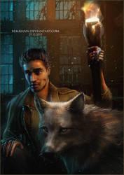 Wolfie by Bembiann