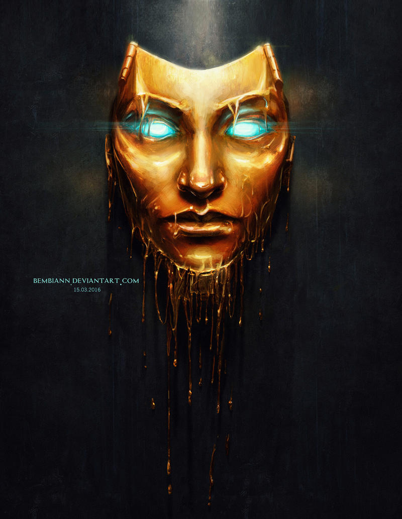 Autoportrait in Handsome Jack`s golden mask style by ...