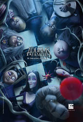 Addams Family Artwork for Contest