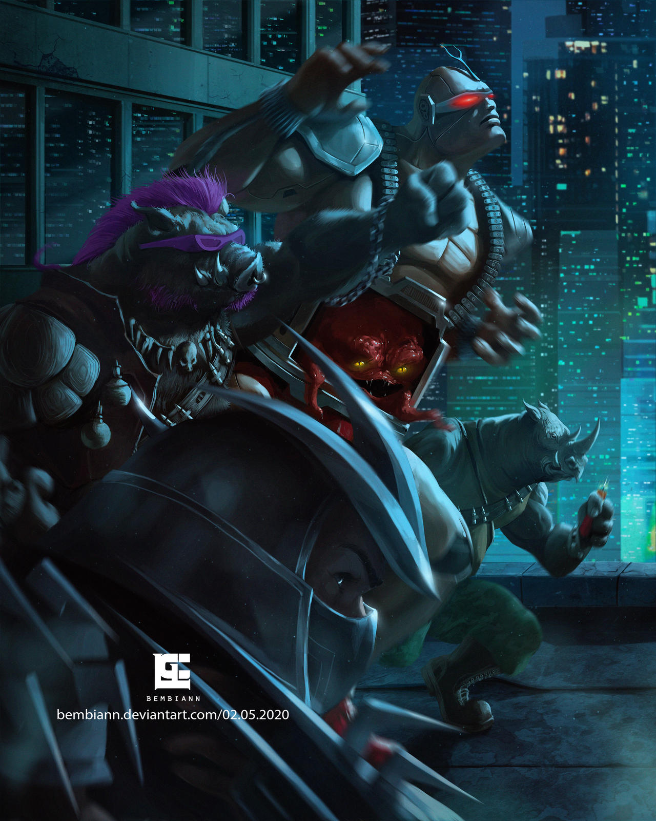 Ninja Turtles Villains