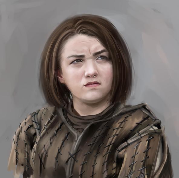 Arya Stark by 4liceg