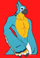 buff bird by mjoelke