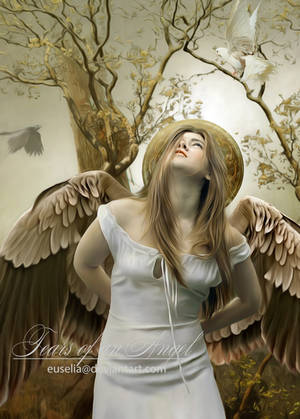 Tears of an Angel by Euselia
