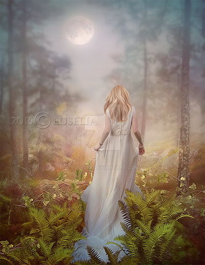 ForestPlace of Dreams by Euselia