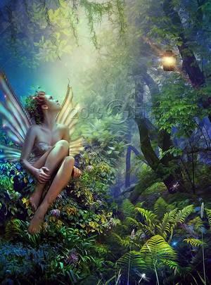 A Beautiful Fairy... by Euselia