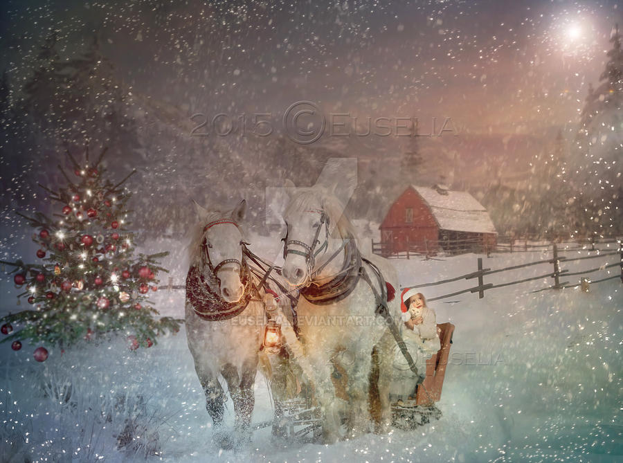 Merry Christmas 2015 by Euselia