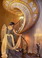 GoldenSwirl by Euselia