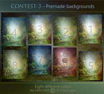 CONTEST-3 Premades backgrounds