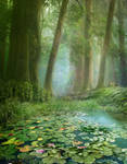 PREMIUM background - GreenForest3b