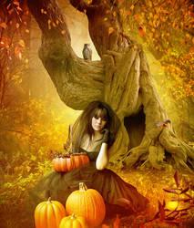 HalloweenMood2 by Euselia