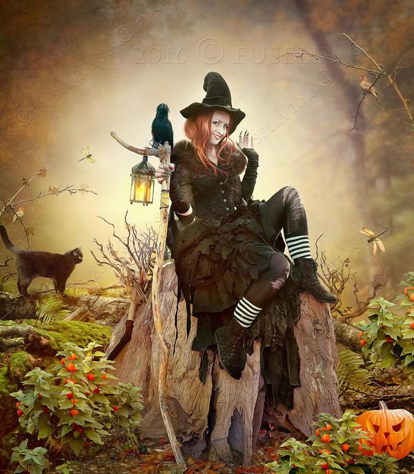 HalloweenTime2 by Euselia