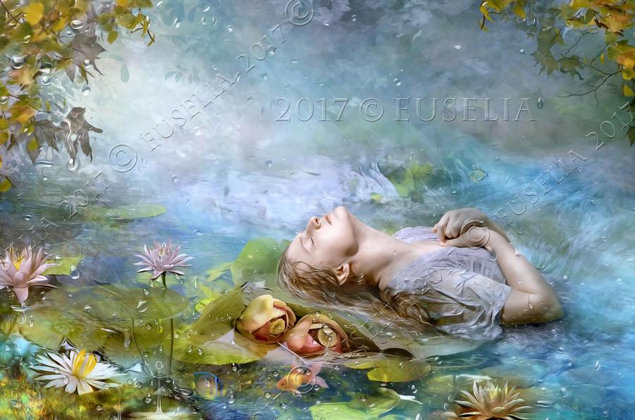 River Embrace by Euselia