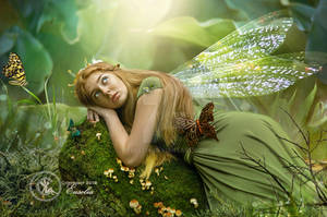 Forest Fairy by Euselia