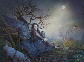 BlackAngel by Euselia