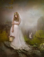 Easter bride by Euselia
