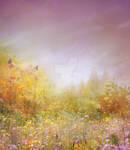 PREMIUM background - Summer-meadow CR