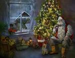 A-short-break-for-Santa - Close up