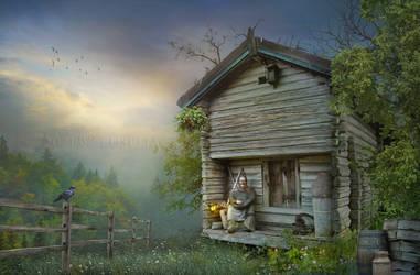 Cottage lady