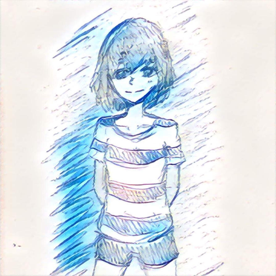 Quick doodle of a girl by Nelson96