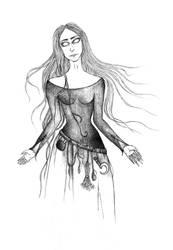 Illustration for Aaen's book by MargueritteWeinlich