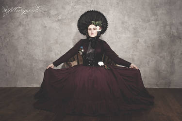 La Madame avec un chapeau by MargueritteWeinlich