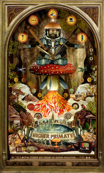 Higher Primate, Stoned Ape Theory poster