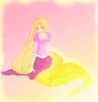 Tangled Rapunzel by ZutaraGirlXD
