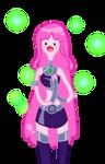 Princess Bubblegum is...