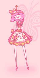 Cutie Pie Bubblegum by ZutaraGirlXD