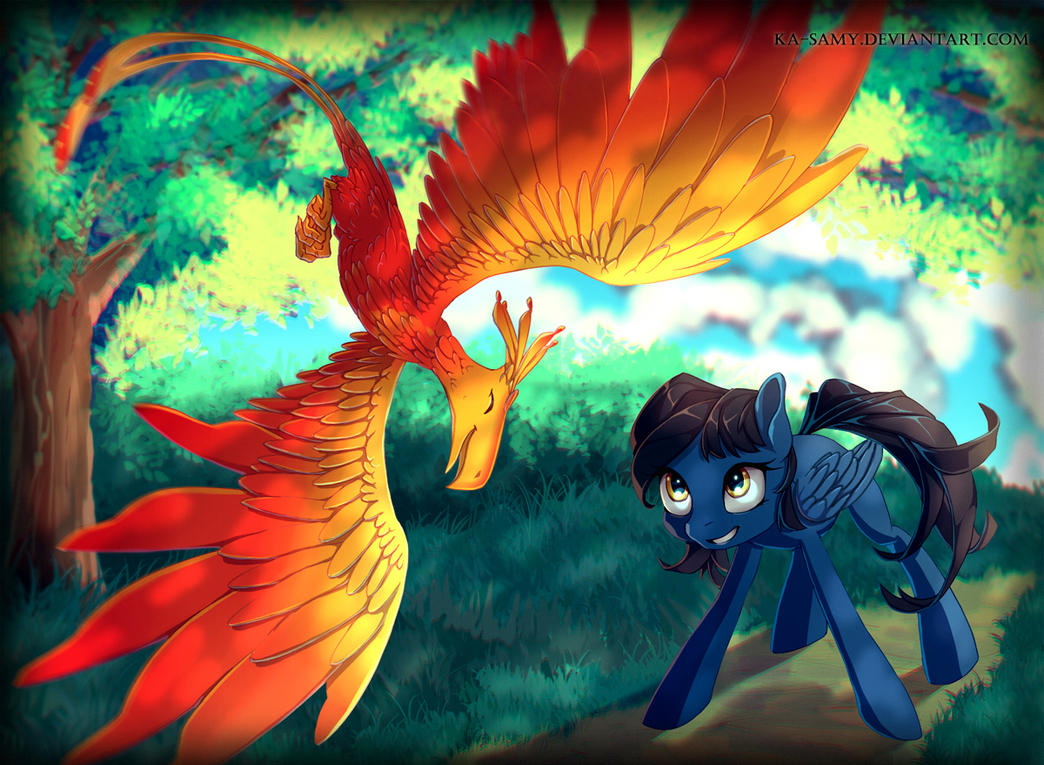 Commission - Forest by ka-samy