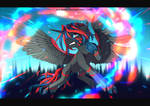 Commission - Cold Burn (+humanisation)