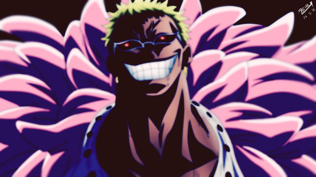 One Piece: Donquixote Doflamingo - Evil by xBunty on DeviantArt