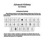 Alchemy Elemental Symbols